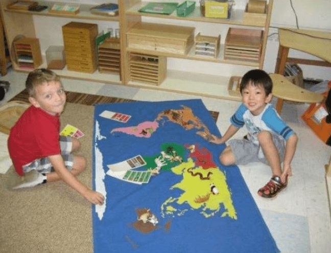 A Montessori School Understands Your Busy Child Might Just be a Kinesthetic Learner