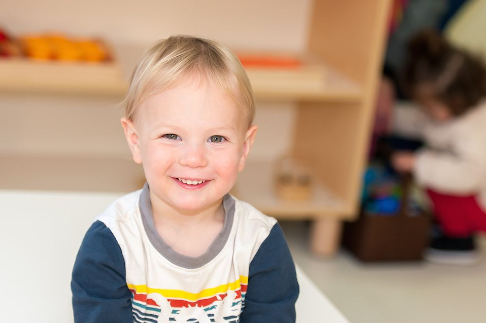 the prepared environment of a montessori preschool 1